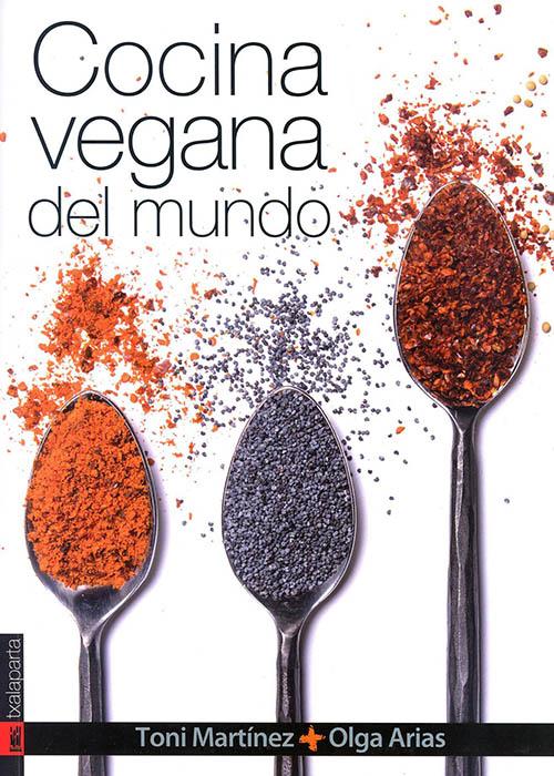 Libros de cocina vegana en castellano: Cocina Vegana del Mundo