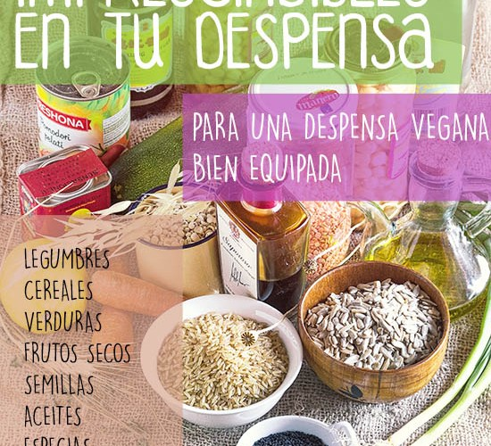 10 alimentos imprescindibles en tu despensa