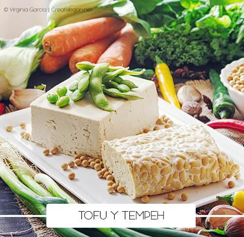 Tofu y tempeh - Derivados de las legumbres - Cómo cocinar con legumbres - GastronomiaVegana.org