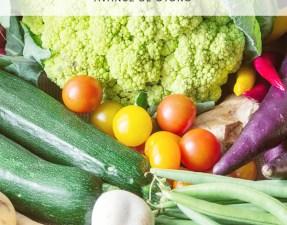 Verduras de temporada agosto-septiembre