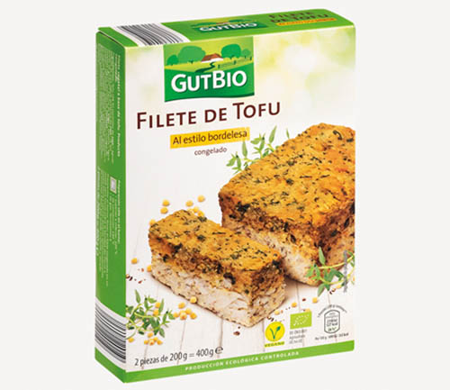 Filete de tofu estilo bordelesa Gut Bio