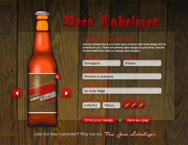 Beer Labelizer