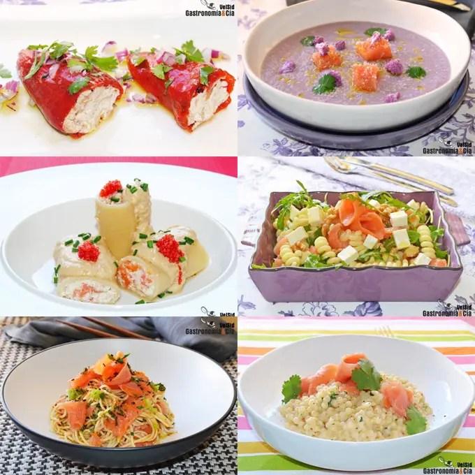 Doce nuevas recetas con salm n ahumado el blog de cocina for Como se cocina el salmon