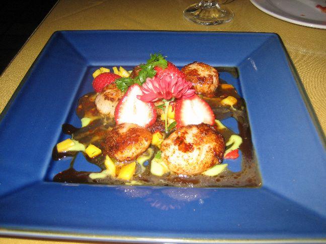 yamasaki seared scallops