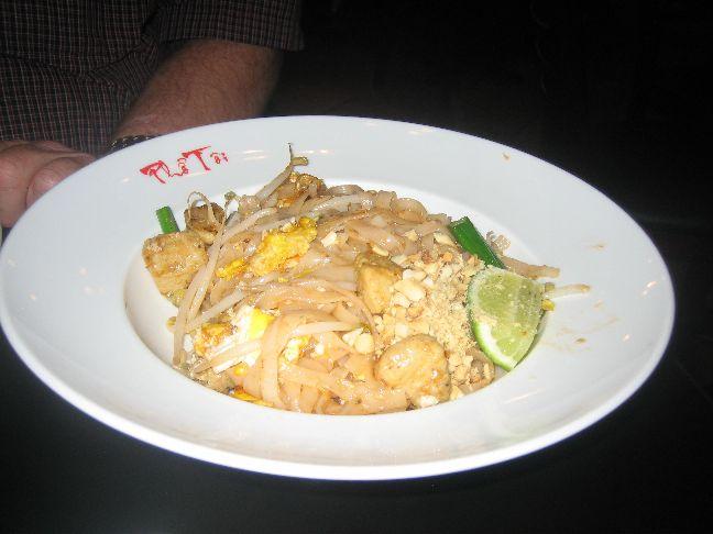 pho green papaya chicken pad thai