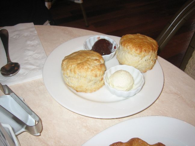 Elizabeth's Bakery and Tea Shop scones and jam