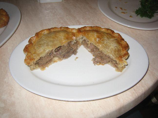 Elizabeth's Bakery and Tea Shop meat pie 2