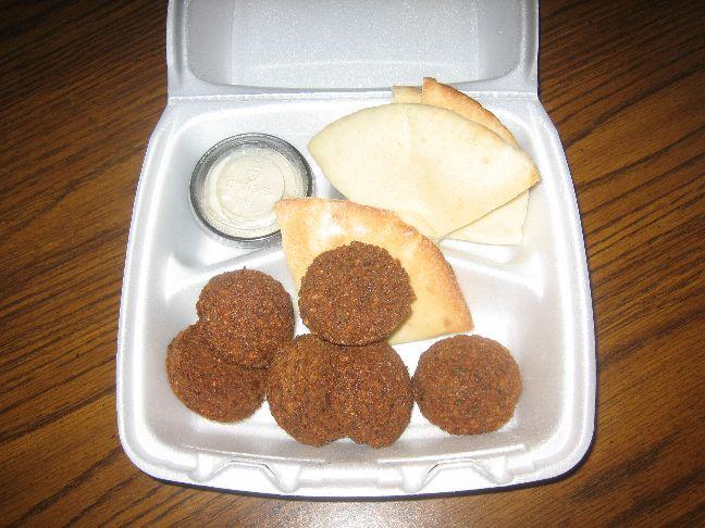 o falafel falafel appetizer