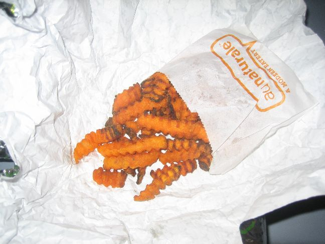 au naturale oven roasted sweet potato fries