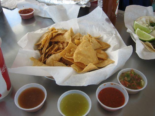 Lone Star Taqueria chips