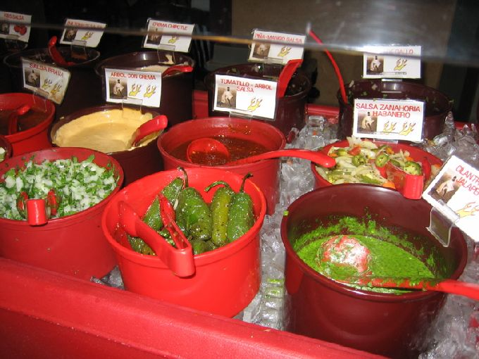 tarahumara salsa bar 2