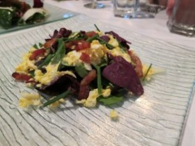 log haven spinach salad