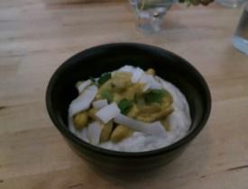 cashew curry with daikon