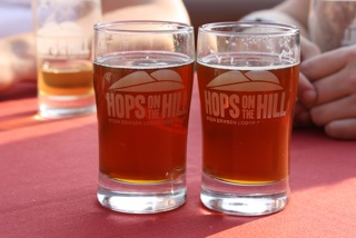 Hops on the hill
