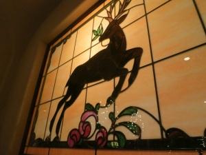 goldener hirsch deer from dining room