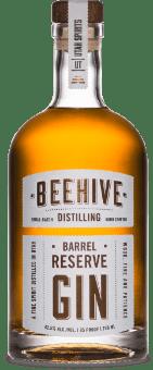 beehive distilling barrel reserve gin