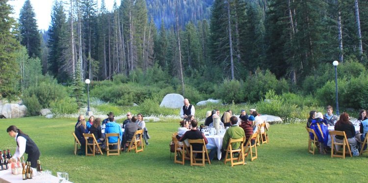 wasatch mountain table dinner
