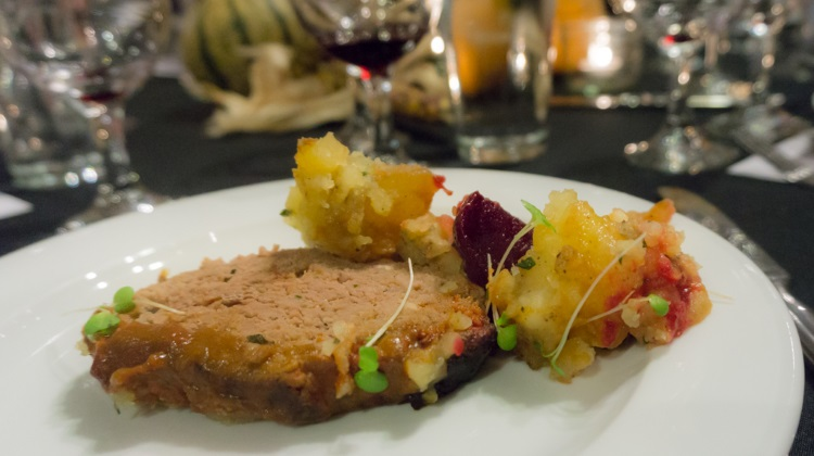 feast of five senses 2015 logen crew meat loaf and veg family style