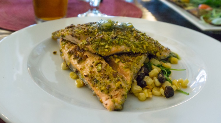 honeycomb grill trout