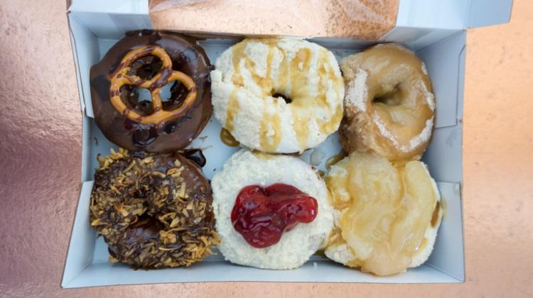 peace love little donuts donut box