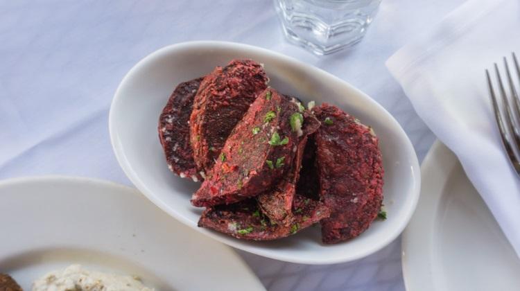 reefs restaurant beet fries