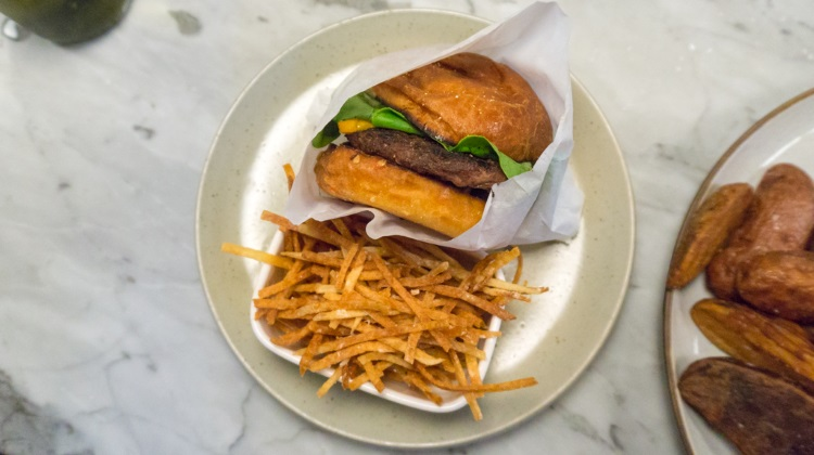 HSL - Cheeseburger and fries $10 special at the bar