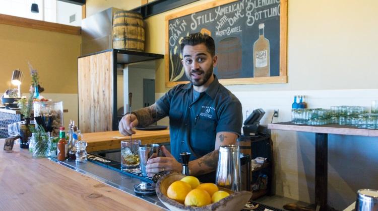 Blue Sky Ranch: High West Distillery bar tender