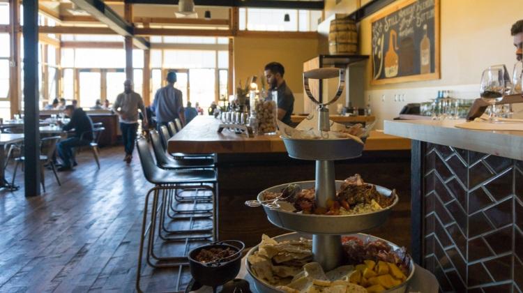 Blue Sky Ranch: High West Distillery brunch and bar