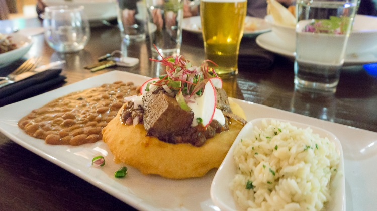 Black Sheep Cafe - brisket taco