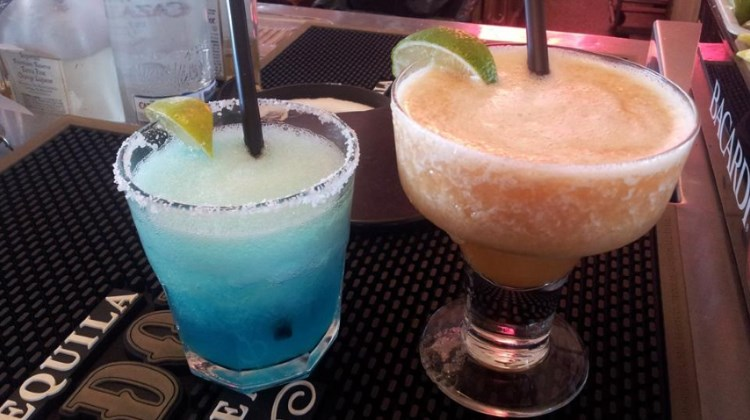 Rio Grande.  Margaritas remain on the menu when the restaurant opens again end of March.