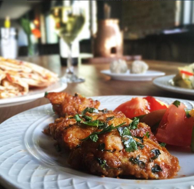 Chakra Lounge - curry chicken bites