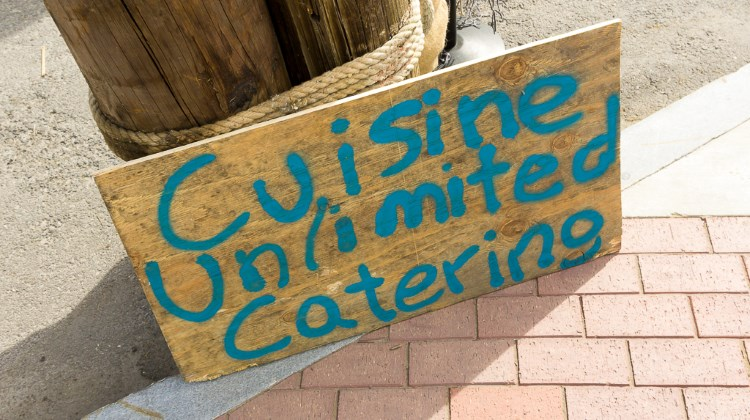 Savor The Summit 2016 - Cuisine Unlimited sign