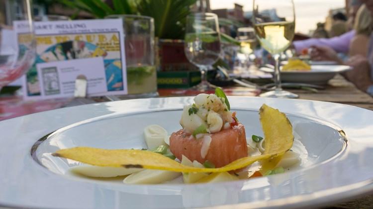 Savor The Summit 2016 - lobster ceviche