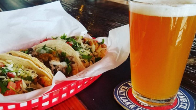 Fisher Brewing - silver moon taco food truck. Credit, Instagram.