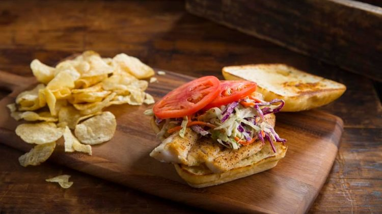 Blue Lemon - cod sandwich. Credit, Blue Lemon.