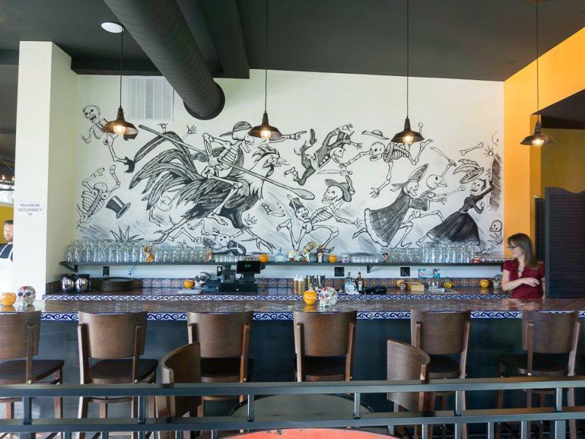 Alamexo - bar area