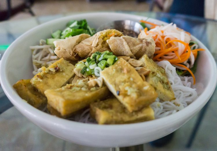 All Chay - bun noodle dish