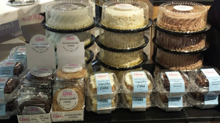 City Cakes - vegan and gluten free baked goods. Credit City Cakes