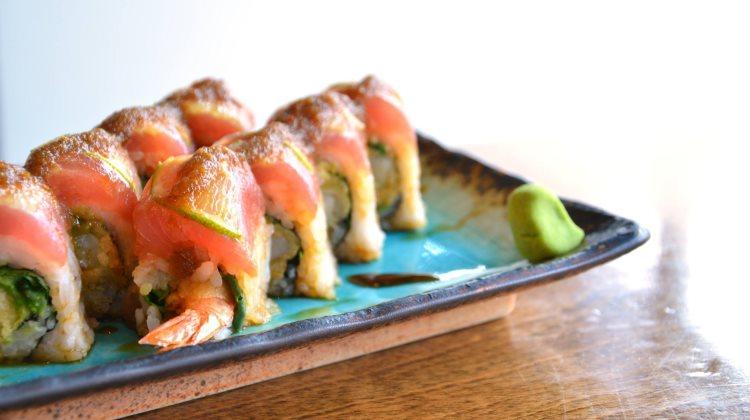 Sushi Blue - sushi. Credit, Sushi Blue