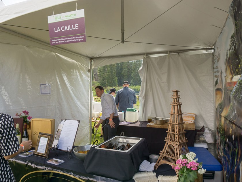 Taste Of The Wasatch 2017 - La Caille