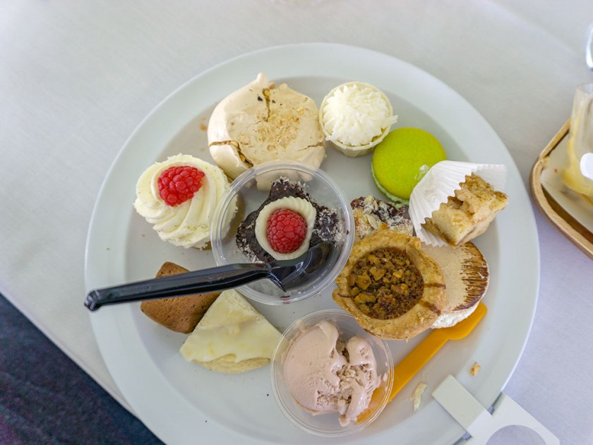 Taste Of The Wasatch 2017 - just one of many many plates of dessert