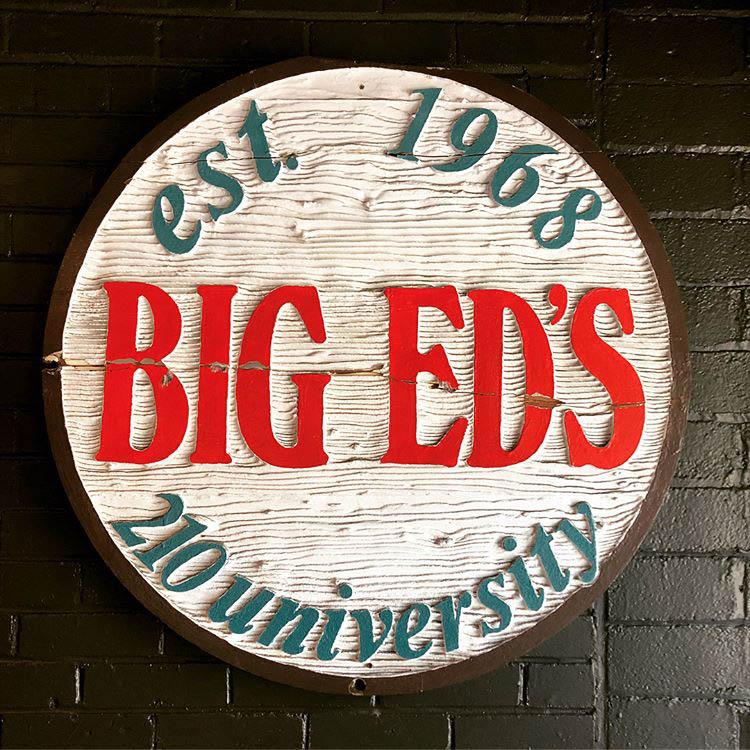 Big Ed's sign (saucedinthecity)