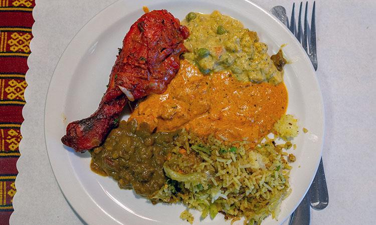 Kathmandu - Highland Drive buffet plate