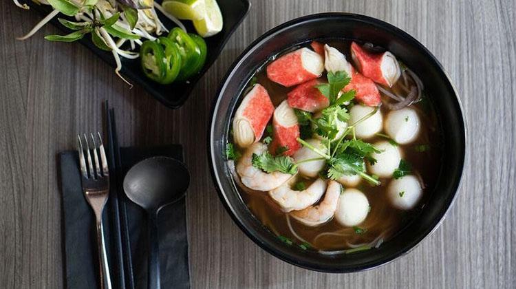 Pleiku - seafood pho (Pleiku)