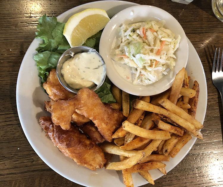 Fiddler's Elbow - fish and cphips
