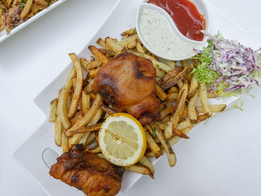 London Belle - fish and chips