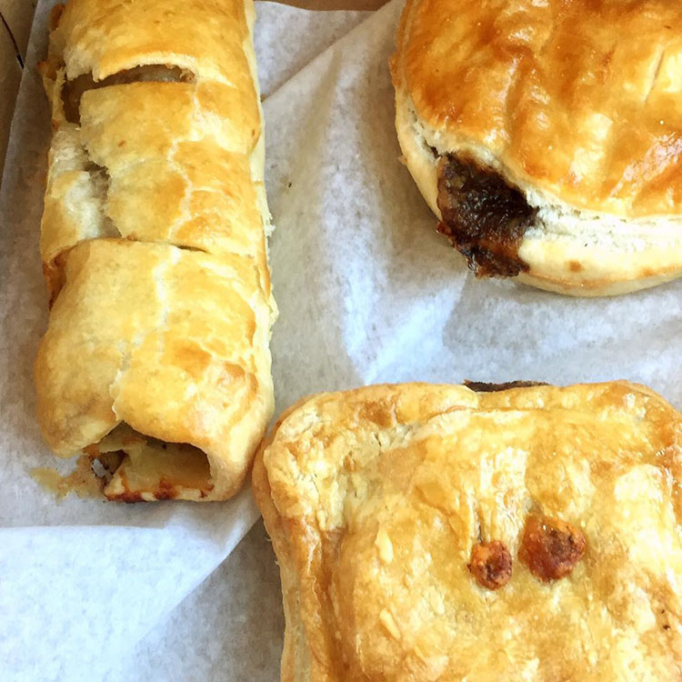 Sagato Barkery - meat pies, sausage rolls (donuts2crumpets)