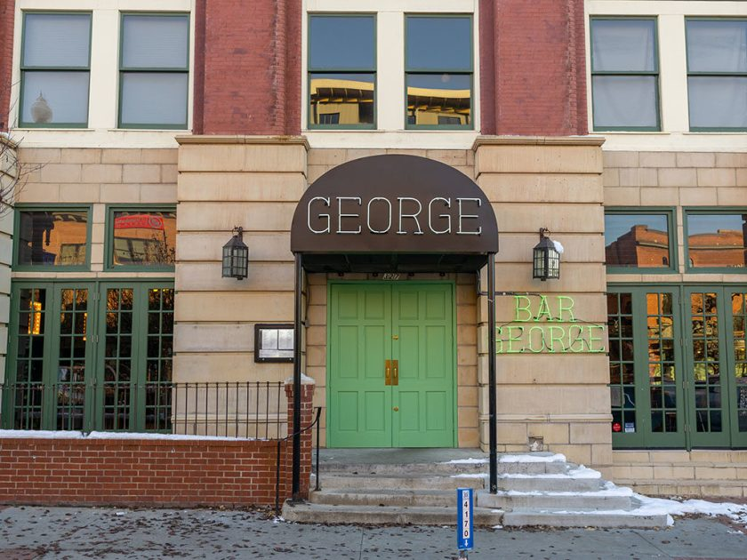 George and Bar George exterior