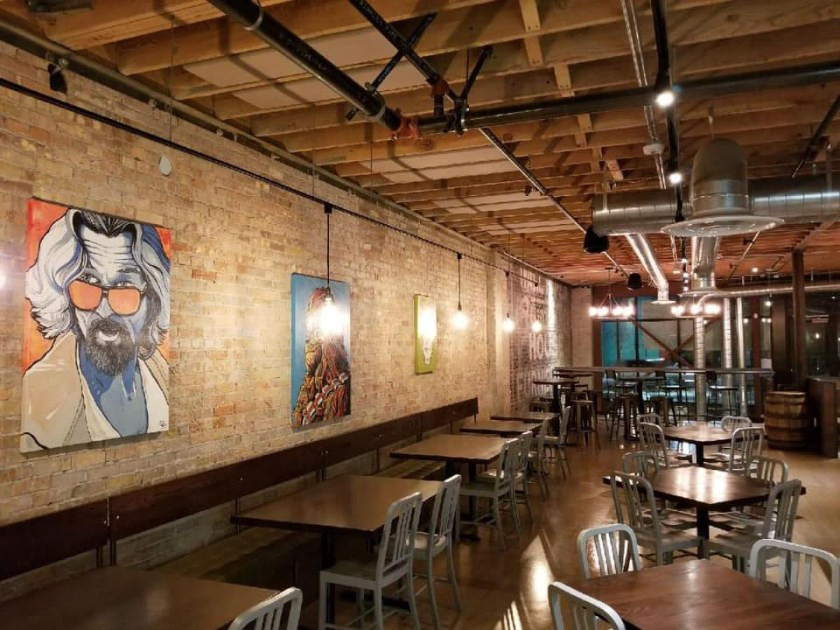 Hopkins Brewing in the Epic Sugar House space (Hopkins)