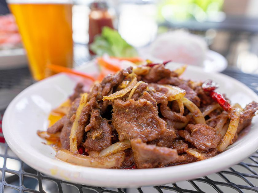 Indochine - chili spiced flank steak